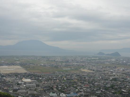 城山公園から桜島.JPG