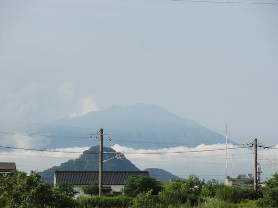 雲海から桜島.JPG
