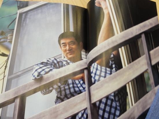 くつろぐ健さん.JPG