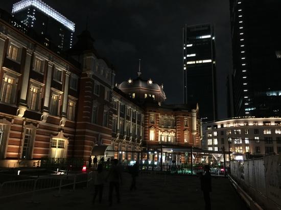 2016.10.23ライトアップ東京駅.JPG