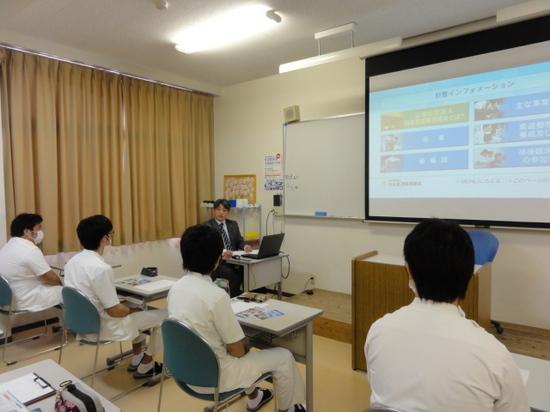第一医療リハビリ専門学校授業2015.JPG